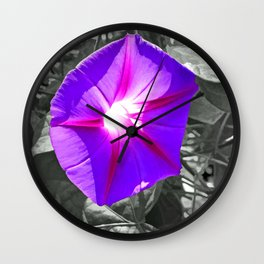 Floral Light Wall Clock