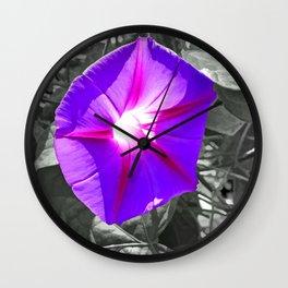 Floral Light Wall Clock