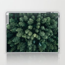Forest from above - Landscape Photography Laptop & iPad Skin
