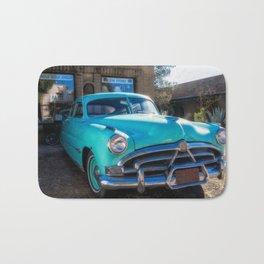 Blue Car Bath Mat