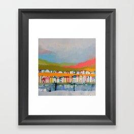 les iles Framed Art Print