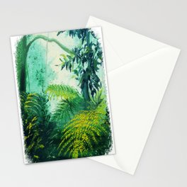 Rainforest Lights and Shadows Stationery Cards