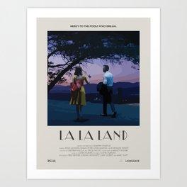 La La Land (2016) Minimalist Poster Art Print