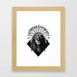 Kneel Before Your King Framed Art Print