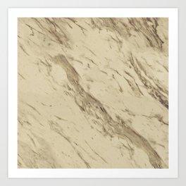 Desert Granite Art Print