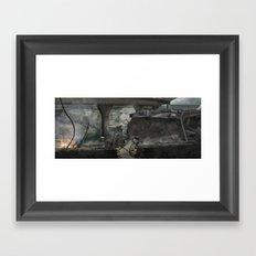 Destroyed City Framed Art Print