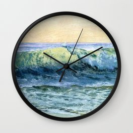 The Wave By Albert Bierstadt | Reproduction Painting Wall Clock
