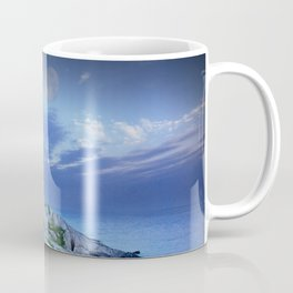 Lighthouse at Peggy's Cove in the Moonlight Coffee Mug