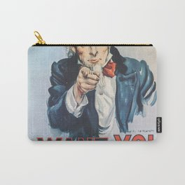 Uncle Sam Recruitment Poster Carry-All Pouch