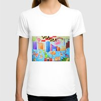 maryland T-shirts featuring Baltimore, Maryland by Karen Riddle