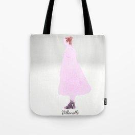 Killing Eve -Villanelle- Pink Dress - watercolor Tote Bag