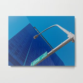 East 2nd Street Downtown Austin Metal Print