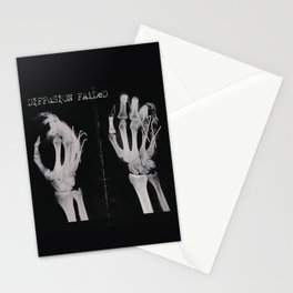 Diffusion Failed Stationery Cards