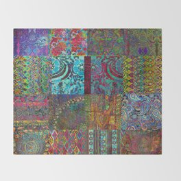 Bohemian Wonderland Throw Blanket