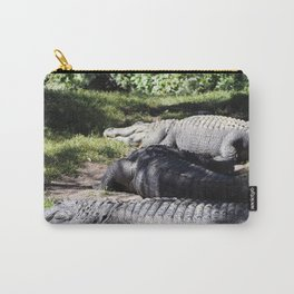 Lounging Gators Carry-All Pouch