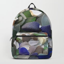 Sea Glass Assortment 5 Backpack
