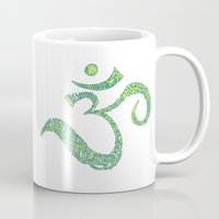 ohm Mugs featuring Color Ohm by Krista Jaworski