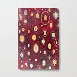 Bliss - Painting - Golden Fireworks of Joy! Metal Print