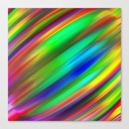 Plutonium Peppermint Canvas Print
