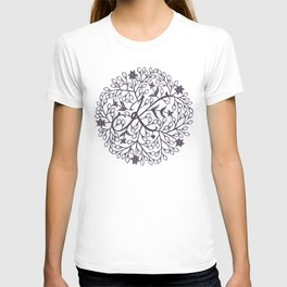 K - monogrammed initial K print T-shirt