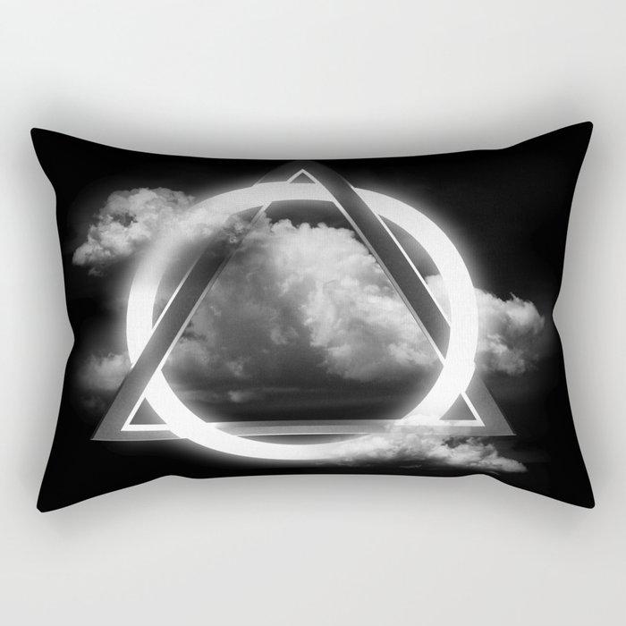 Sacred Geometry - Trinity  06 Rectangular Pillow