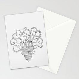 grey mind Stationery Cards