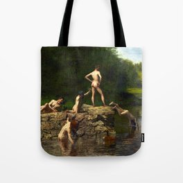 Thomas Eakins Swimming Tote Bag