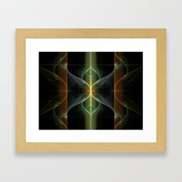 Fairy Gate Fractal Framed Art Print
