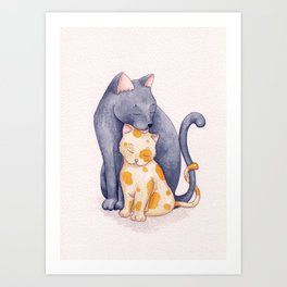Mother's Love Art Print