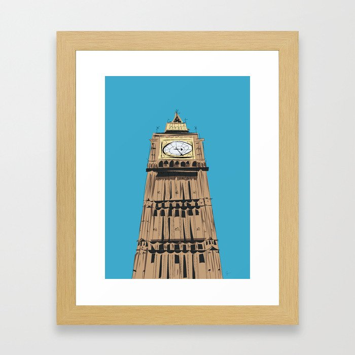 London Big Ben Framed Art Print