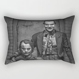 The Jokers in black and white Rectangular Pillow