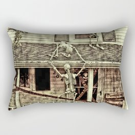 Don't Open The Window! Rectangular Pillow