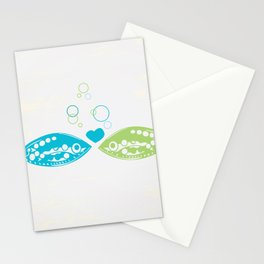You Hooked Me Stationery Cards