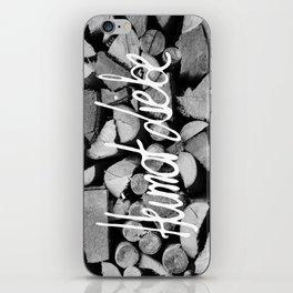 Heimat Liebe iPhone Skin