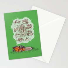The Dreams of the Wonder Chainsaw Stationery Cards