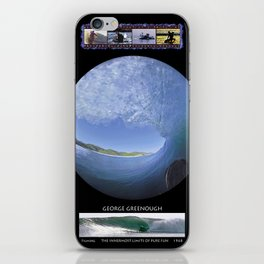 George Greenough Filming 1968 (6 photo composite) iPhone Skin