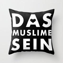 Das Muslime Sein [BB] Throw Pillow