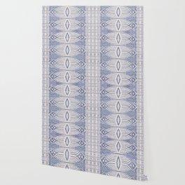 FRENCH LINEN TRIBAL IKAT Wallpaper