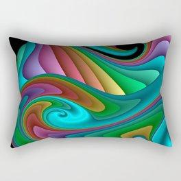 fractal squares -04- Rectangular Pillow