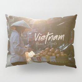 Vietnam street market Pillow Sham