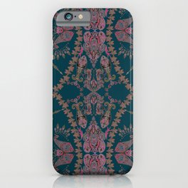 Emerald Gipsy Paisley iPhone Case