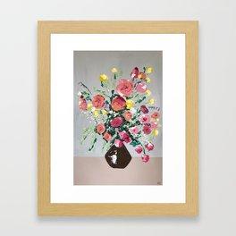 Still Life In Color No.3 Framed Art Print