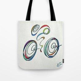 Bicycle - Zoomin' Through Tote Bag