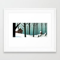 finland Framed Art Prints featuring Finland by quentinschall