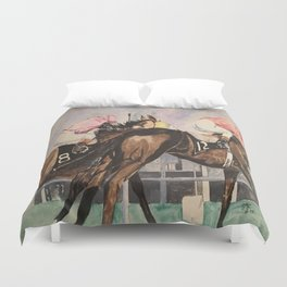Stretch Run Duvet Cover
