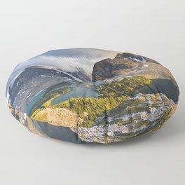 Mount Assiniboine Provincial Park Floor Pillow