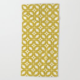 Starburst - Gold Beach Towel