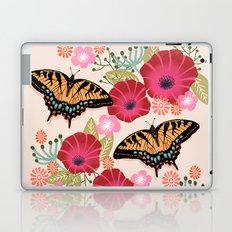 Swallowtail Florals by Andrea Lauren  Laptop & iPad Skin