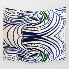 Water Flowing Plant Wall Tapestry