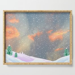 My Snowland | Christmas Spirit Serving Tray